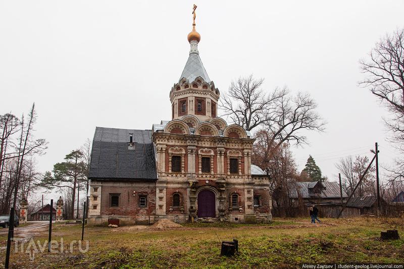 Замок Храповицкого в Муромцево / Россия