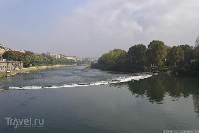 Река По в Турине, Италия / Фото из Италии