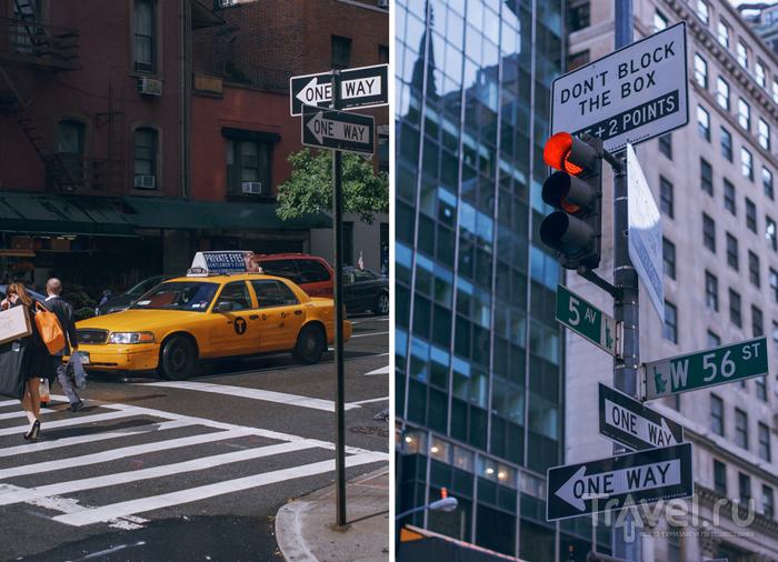 В городе Нью-Йорк, США / Фото из США