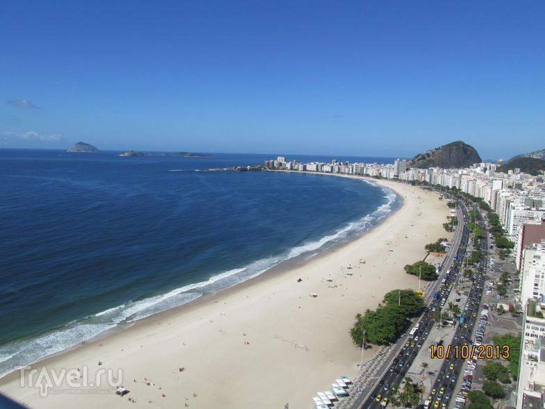 Рио-де-Жанейро. Пляж Копакабана / Бразилия