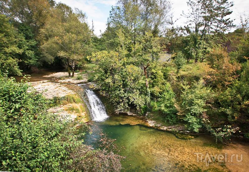 Мерхеульский или Ольгинский водопад, Абхазия / Фото из Абхазии