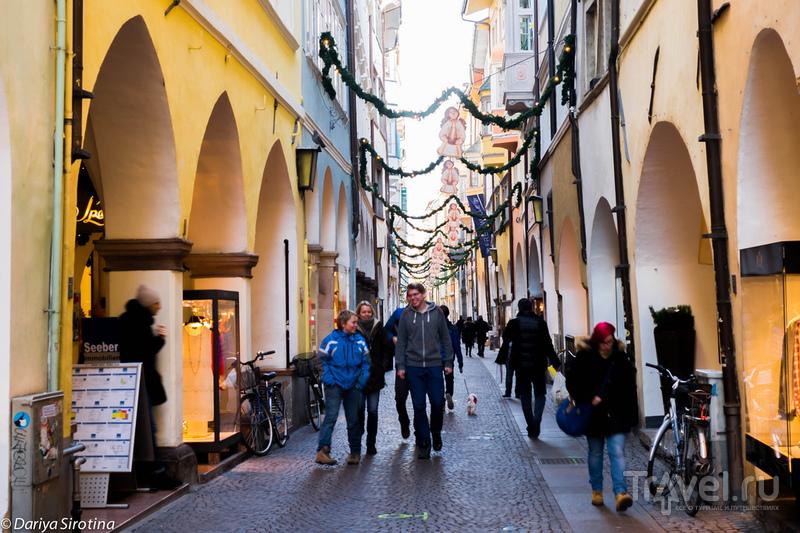 В городе Больцано, Италия / Фото из Италии