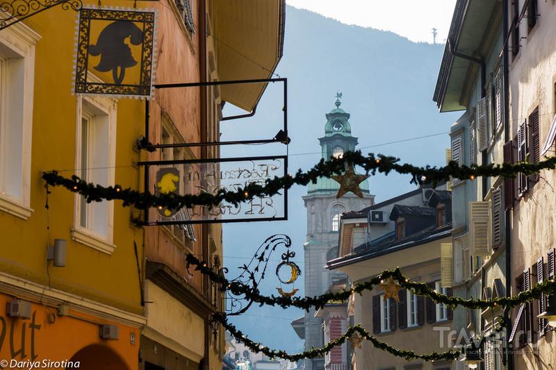 Больцано и Сопрабольцано. Сказочный поезд в Альпах / Фото из Италии