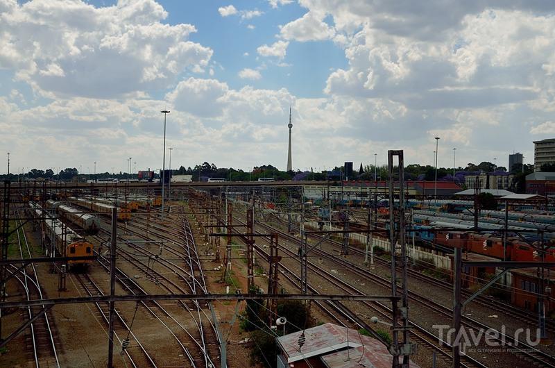 На вокзале Park Station в Йоханнесбурге, ЮАР / Фото из ЮАР