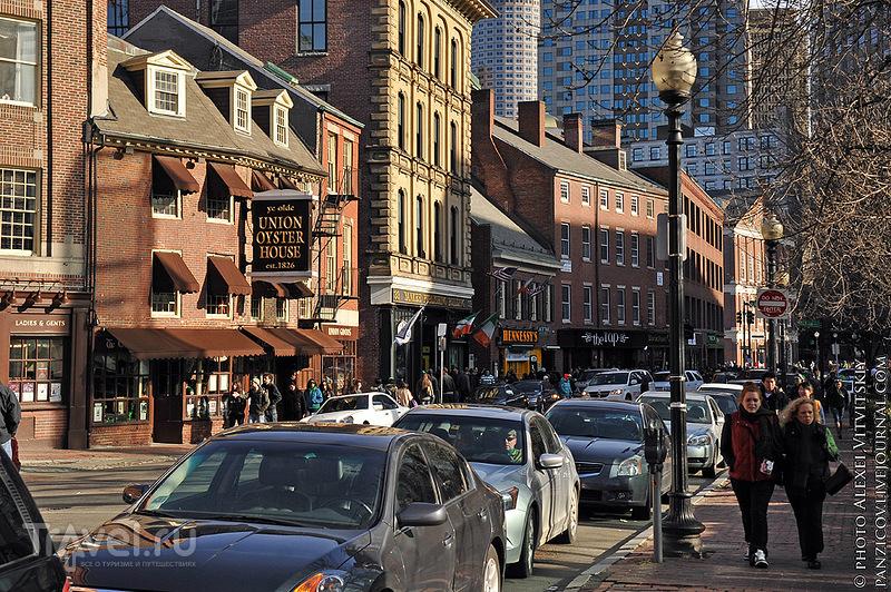 В городе Бостон, США / Фото из США