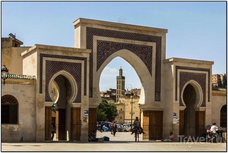 Ворота BabRcif в Фесе, Марокко / Фото из Марокко