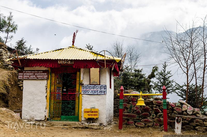В поселке Намче Базар, Непал / Фото из Непала