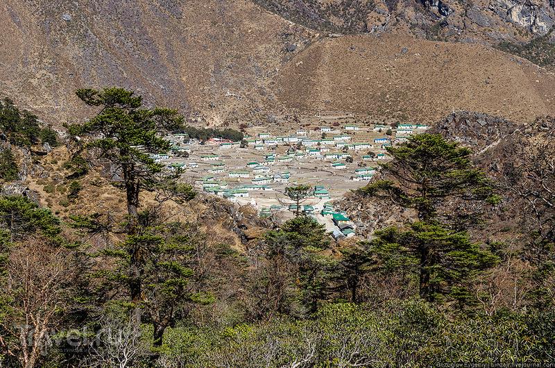 Деревня Кумджунг, Непал / Фото из Непала