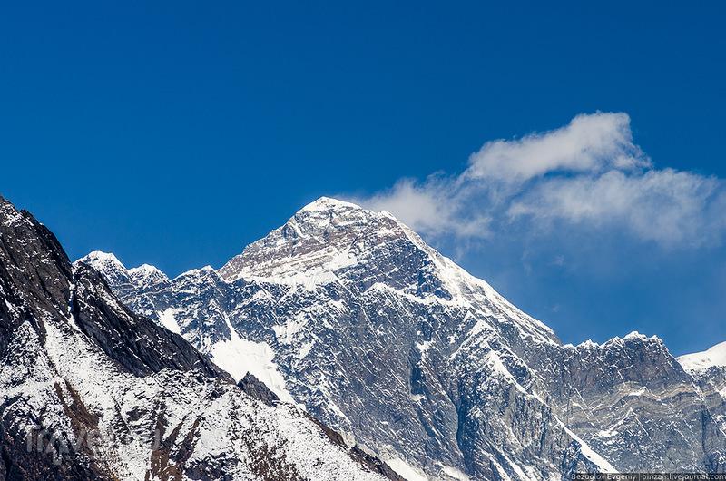 Вершина Эвереста, Непал / Фото из Непала