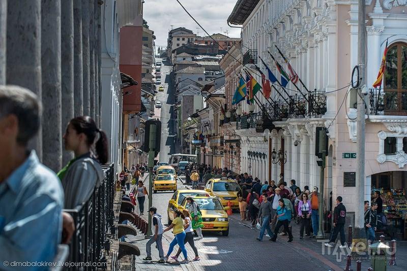 В городе Кито, Эквадор / Фото из Эквадора