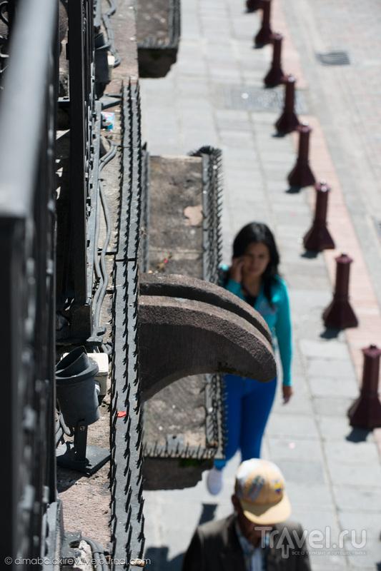 Прогулка по Кито, столице Эквадора / Фото из Эквадора