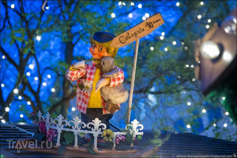 Рождественский рынок на Рудольфплатц в Кёльне, Германия / Фото из Германии