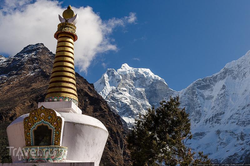 Непал. Дорога в монастырь. Ноябрь 2013 / Фото из Непала