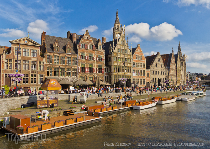 В городе Гент, Бельгия / Фото из Бельгии
