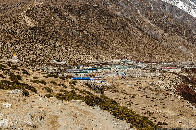 В регионе Кхумбу, Непал / Фото из Непала