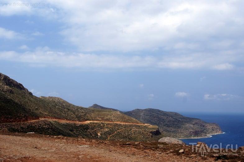 Автопробег по Криту. Бухта Балос / Греция