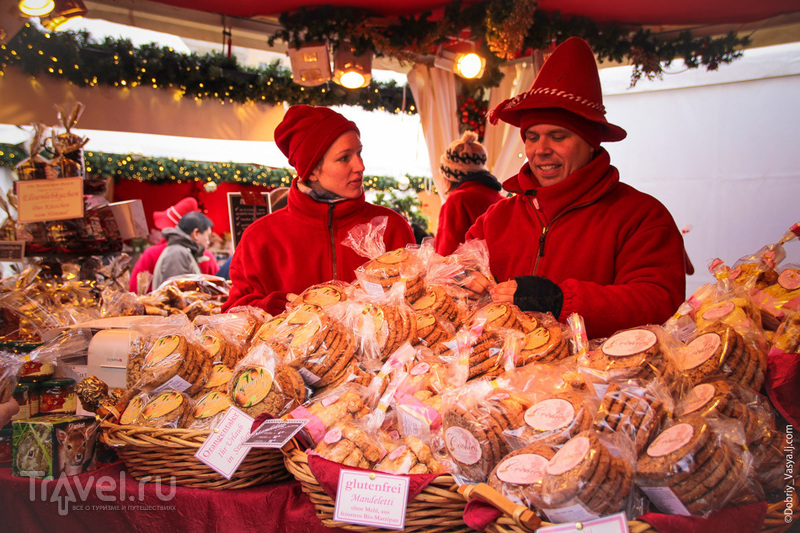 На рождественской ярмарке в Берлине, Германия / Фото из Германии