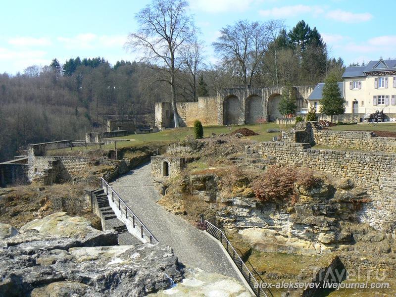 Замок Ларошетт (Larochette) - дом королевских знаменосцев / Люксембург