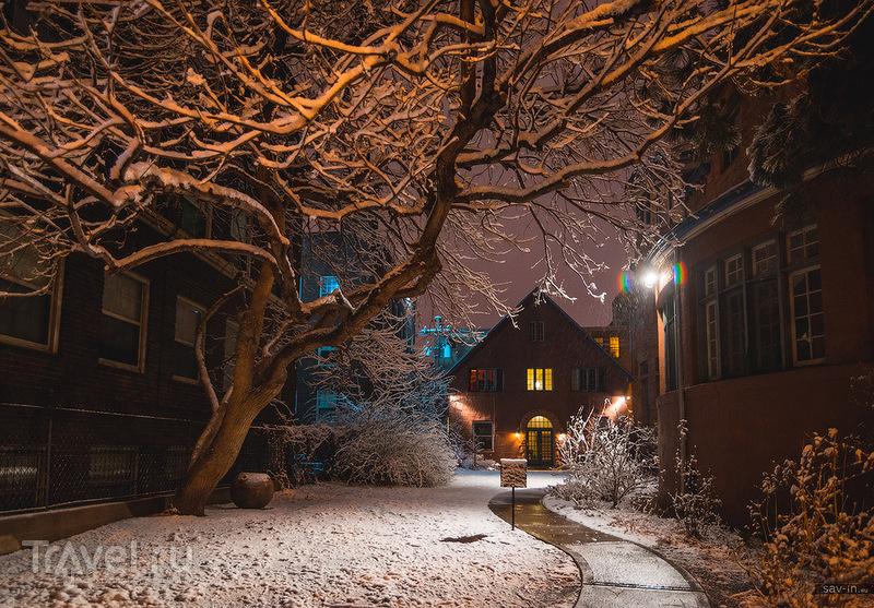 В городе Денвер, США / Фото из США