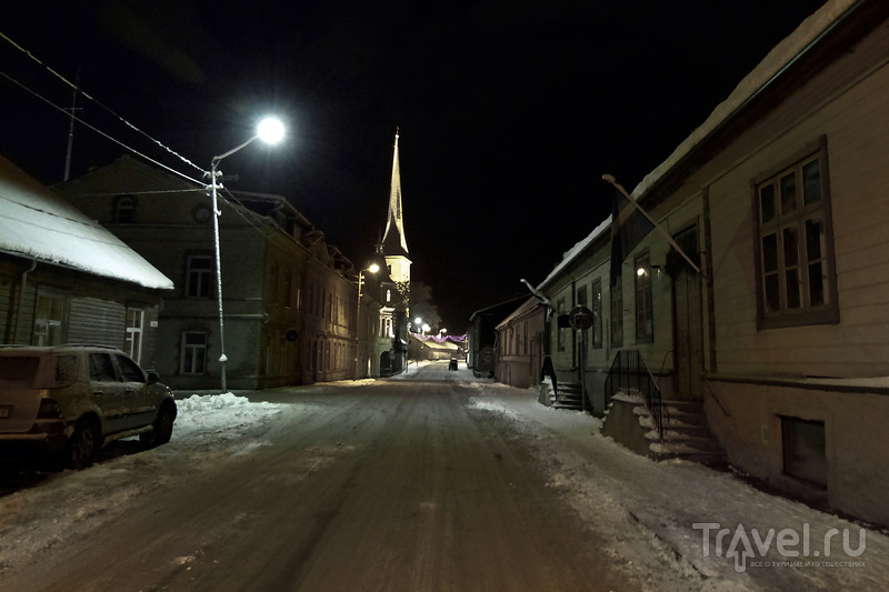 Улица Pikk в Раквере, Эстония / Фото из Эстонии