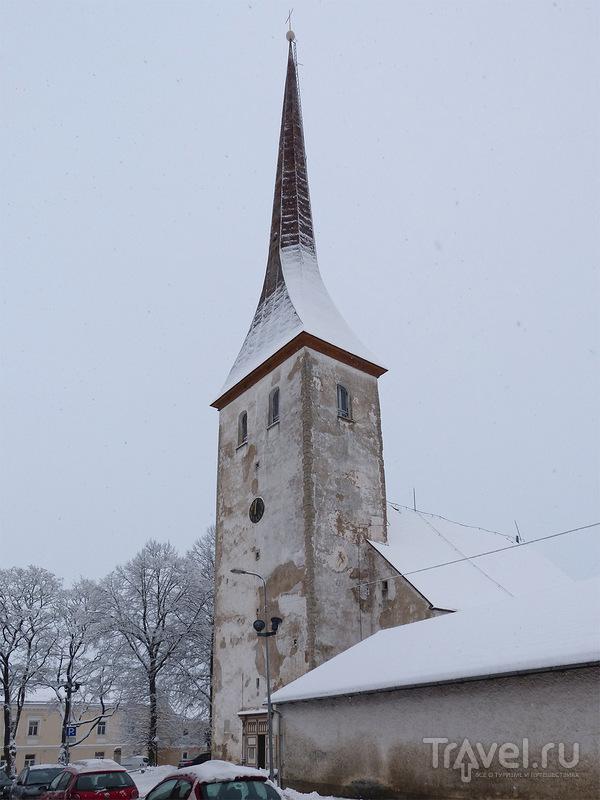 Церковь Святой Троицы в Раквере, Эстония / Фото из Эстонии