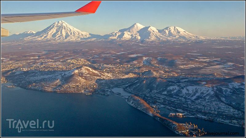 Вулканы Корякская Сопка  Авачинская Сопка и Козельский / Фото из России