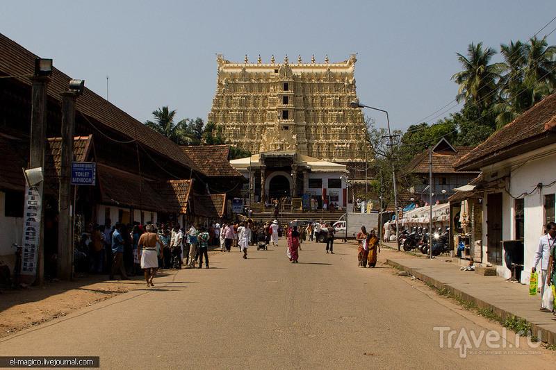 Храм Вишну Падманабхасвами, Индия / Фото из Индии
