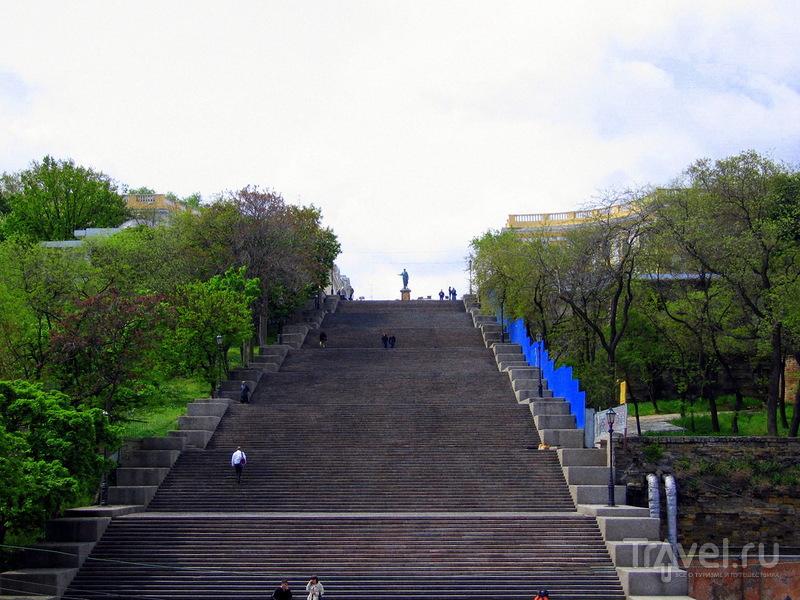 Потемкинская лестница в Одессе, Украина / Фото с Украины