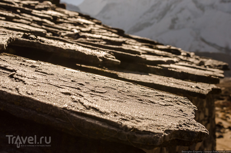 Непал. Way back to Namche Bazar / Фото из Непала