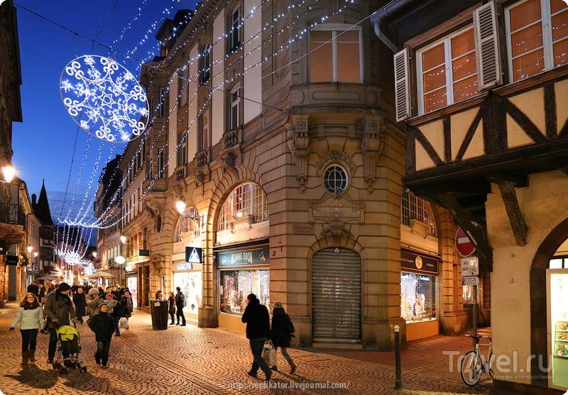 В городе Страсбург, Франция / Фото из Франции