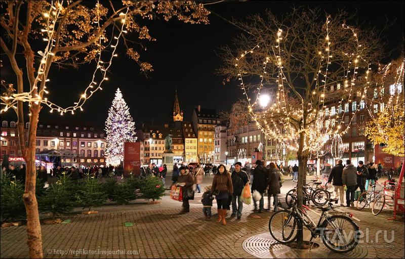 Place Kléber в Страсбурге, Франция / Фото из Франции