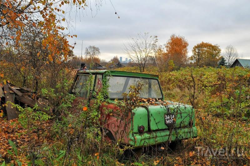 Деревня Терехово в Москве. Россия / Фото из России