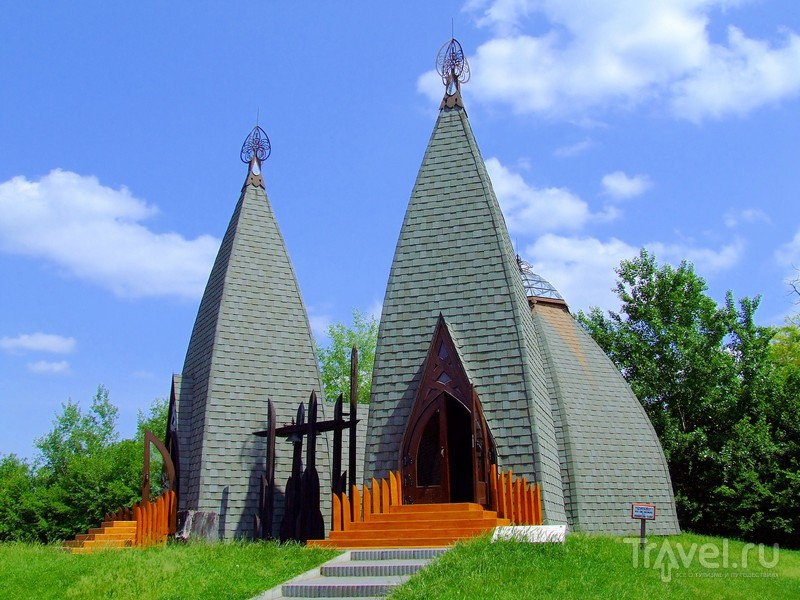 Национальный мемориально-исторический парк Опустасер на юге Венгрии / Венгрия