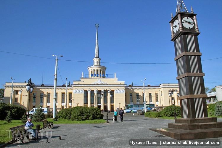 Железнодорожный вокзал Петрозаводска, Россия / Фото из России