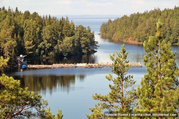 Малая Никоновская бухта архипелага Валаам, Россия / Фото из России