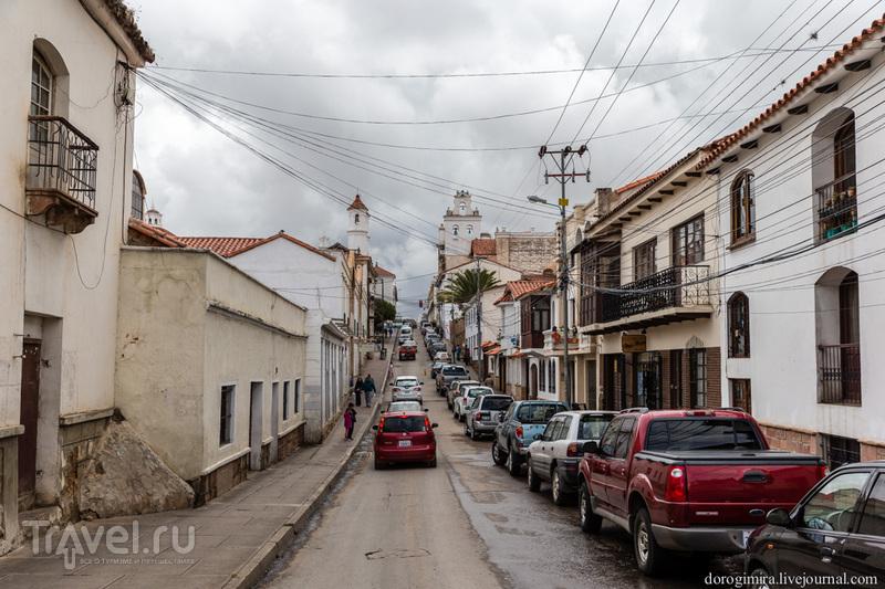 В городе Сукре, Боливия / Фото из Боливии