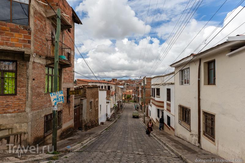 Сукре: нестоличная столица Боливии / Фото из Боливии