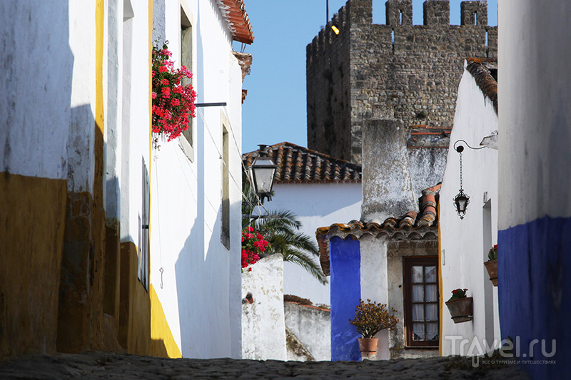 В городе Обидош, Португалия / Фото из Португалии