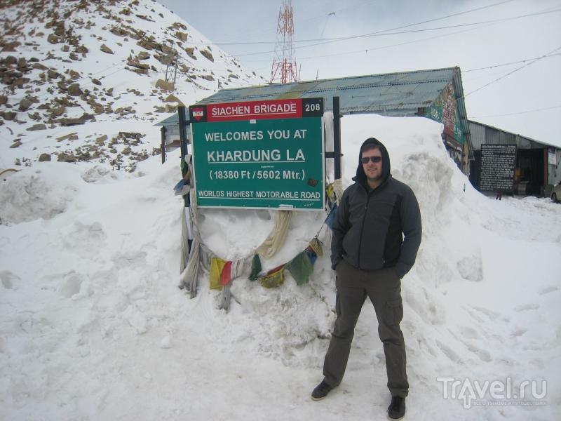 Ладакх. Самый высокий перевал / Индия