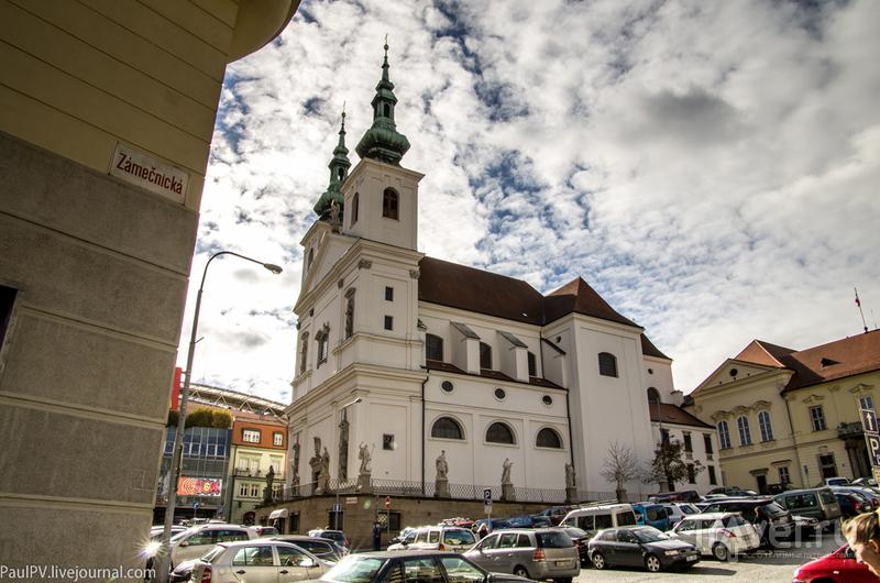 Церковь Святого Михаила в Брно, Чехия / Фото из Чехии