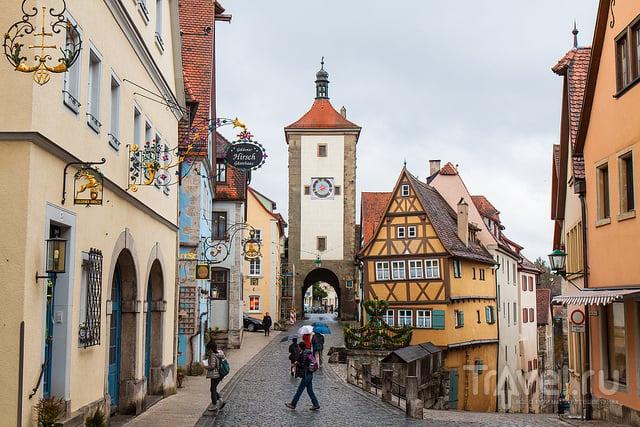 В городе Ротенбург-на-Таубере, Германия / Фото из Германии