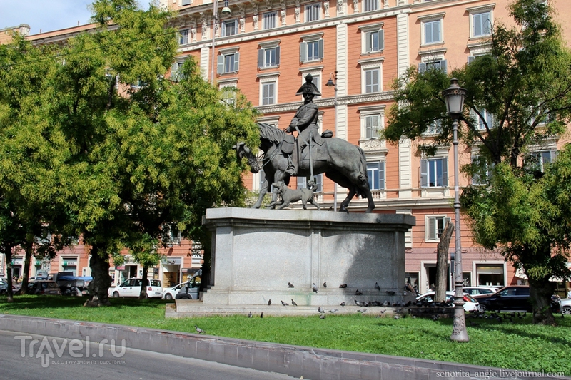 Piazza del Risorgimento в Риме, Италия / Фото из Италии