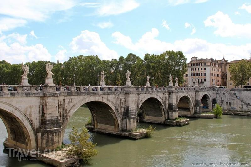 Река Тибр в Риме, Италия / Фото из Италии