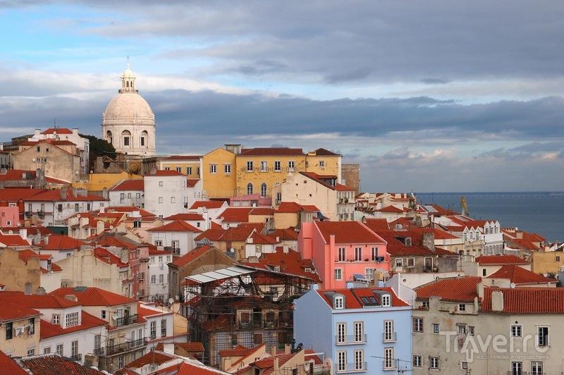 Район Алфама в Лиссабоне, Португалия / Фото из Португалии