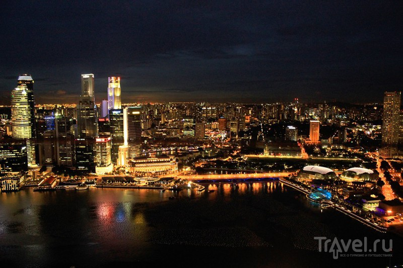 Сингапур. Общие впечатления (город и рождество) / Сингапур