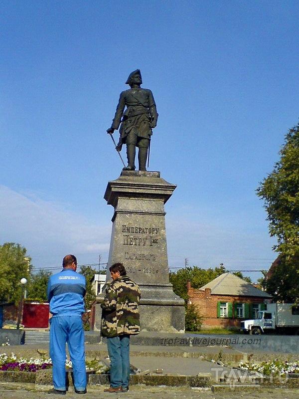 Памятник Петру 1 в Таганроге, Россия / Фото из России