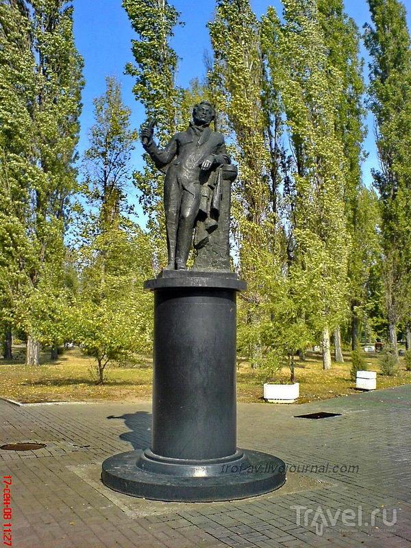 Памятник Пушкину в Таганроге, Россия / Фото из России