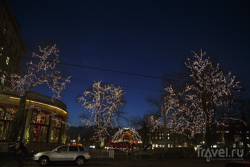 Волшебное Рождество в Швейцарии: Цюрих / Швейцария