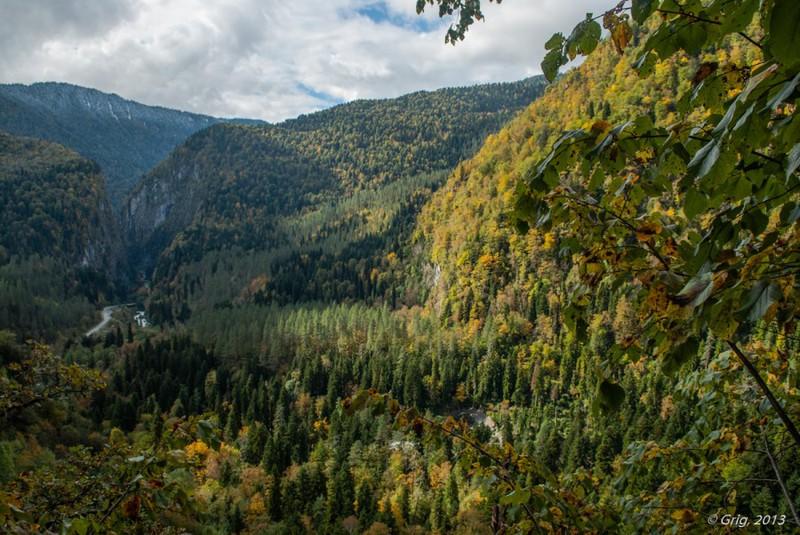 Осень в Абхазии / Абхазия