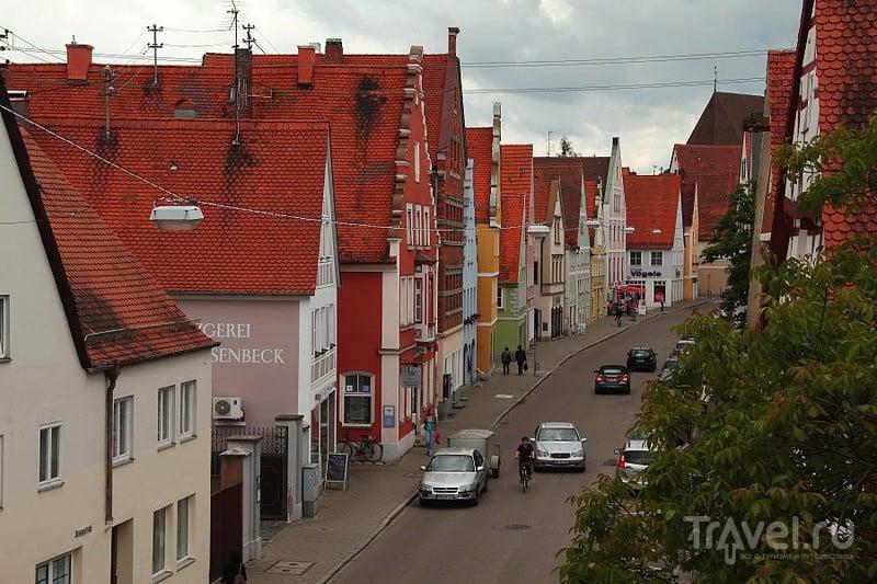 В городе Нёрдлинген, Германия / Фото из Германии